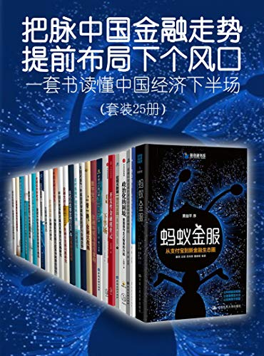 《一套书读懂中国经济下半场》 (套装25册) 陈元, 钱颖一 epub+mobi+azw3 kindle电子书下载